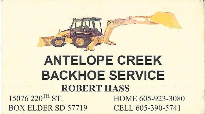 Antelope Creek Backhoe Service