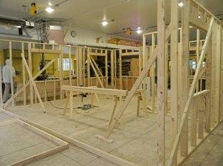 Image: building frame work - Texas Roadhouse Rapid City Fundraiser April 25, 2017