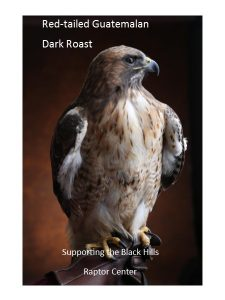 Red tailed Guatemalan Dark Roast Raptor Coffee