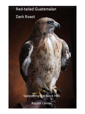 Red tailed Guatemalan Dark Roast Raptor Coffee